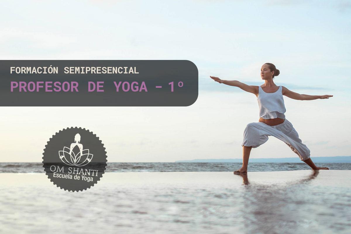 Curso semipresencial de Profesor de Yoga - primer año