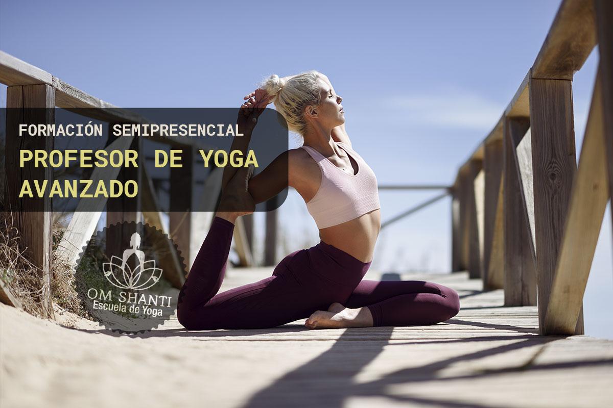 Curso semipresencial de Profesor de Yoga - Avanzado